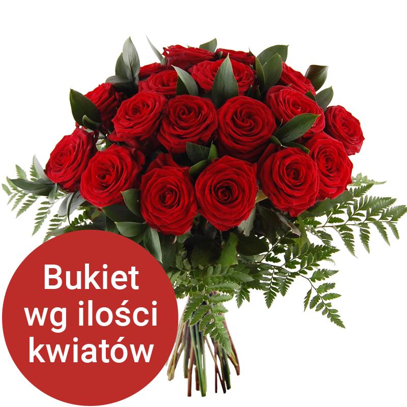 Bukiet 17 róż Telekwiaciarnia